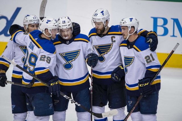 The St. Louis Blues won't bring Kevin Shattenkirk back. Jaden Schwartz could be $6.5 plus on his next deal.