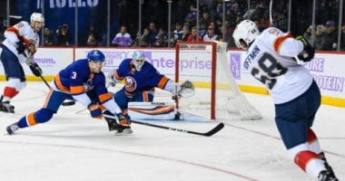 A look into the play-in matchup between the New York Islanders and the Florida Panthers. Each team's strengths, weaknesses, injury updates, and playoff prediction.