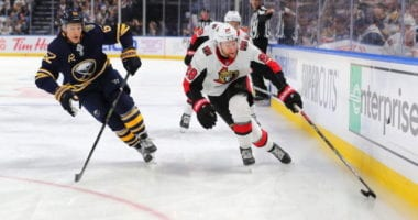 The Buffalo Sabres should trade their first round pick and could also sweeten the pot with Brandon Montour.