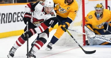 A look into the play-in matchup between the Nashville Predators and the Arizona Coyotes. Each team's strengths, weaknesses, injury updates, and playoff prediction.