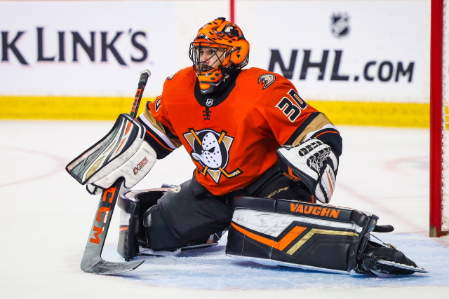 Looking at some potential backup options for the Anaheim Ducks