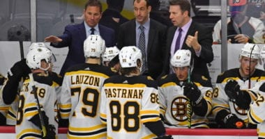 The Boston Bruins don't have any reservations about playing