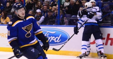 Vladimir Tarasenko said his shoulder is good as he takes to the ice. Chris Thorburn retires from the NHL.