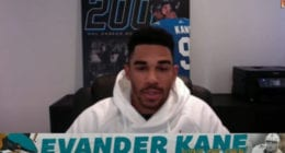 San Jose Sharks Evander Kane reacting to George Floyd's death and racism.