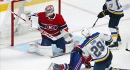 Could the Montreal Canadiens look to offer sheet St. Louis Blues Vince Dunn?