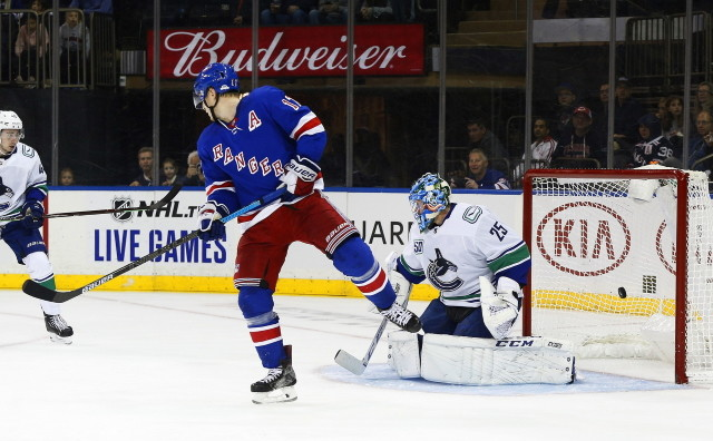 The New York Rangers and Vancouver Canucks won't have a lot of salary cap space to work with this offseason.
