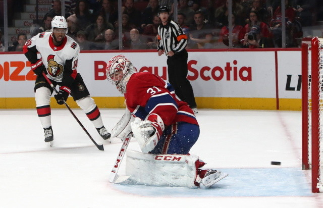 Carey Price isn't going anywhere. What could happen with the Ottawa Senators UFAs and RFAs. A few management options for the Arizona Coyotes.