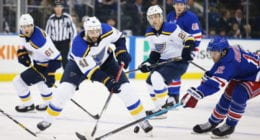 Multiple St. Louis Blues players test positive.