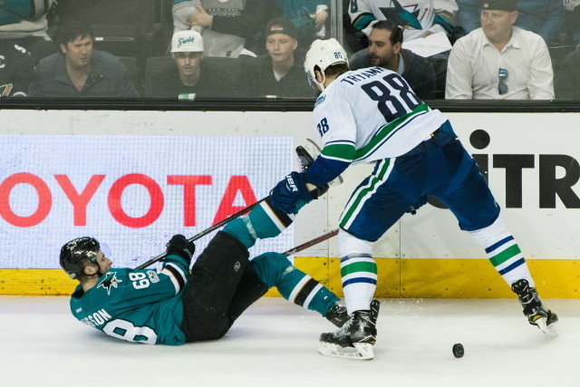 Will the Canucks bring Tryamkin back after his KHL season? Penguins looking at the trade market. Some coaches are still not getting full pay.