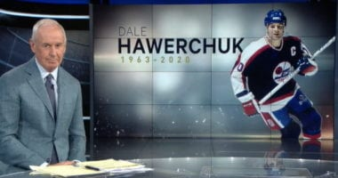 Hockey Hall of Famer Dale Hawerchuk passes away.