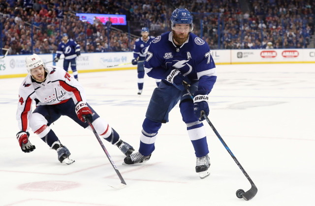 Hurricanes hopeful for Dougie Hamilton to return this series. Anthony DeAngelo a G-T-D. Victor Hedman expected to practice today. John Carlson to skate today and should be ready for the opener.