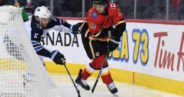 Tensions are a little high. The Winnipeg Jets are down 1-0 to the Calgary Flames are likely without both Mark Scheifele and Patrik Laine for Game 2.