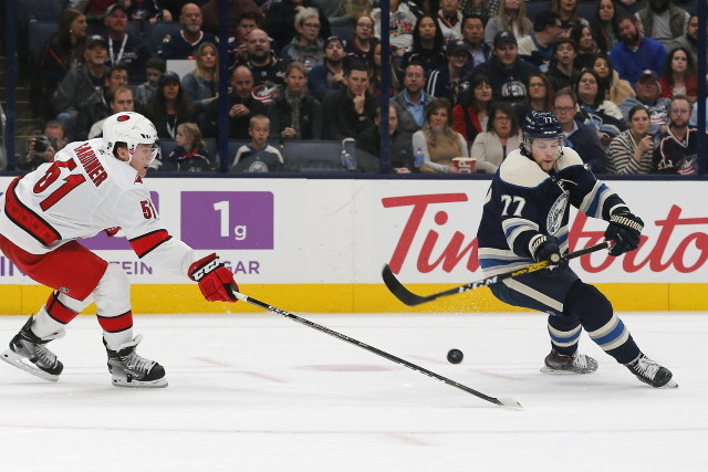 No extension talk in Carolina yet. Round one of interviews for the Panthers GM position may be done. The Blue Jackets have some cap space they could use to their advantage this offseason.