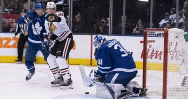 The Chicago Blackhawks don't have a lot of cap room for their free agents.Frederik Andersen's agent comments on trade speculation