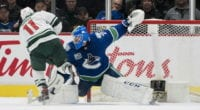 Looking at the betting odds and some storylines for the play-in Western Conference series between Minnesota Wild and the Vancouver Canucks.