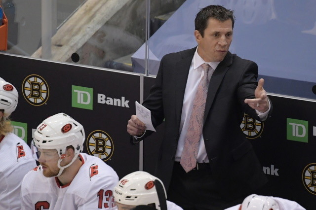 Five coaches on the last year of their deals. Three Detroit Red Wings trade targets. Nothing imminent for the Calgary Flames.