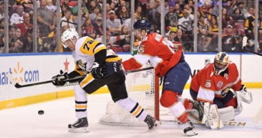 The Pittsburgh Penguins have traded forward Patric Hornqvist to the Florida Panthers for defenseman Mike Matheson.
