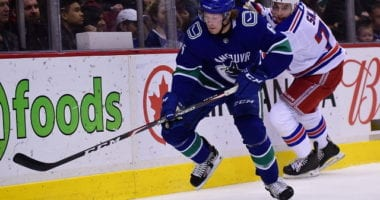 Buyout options for the New York Rangers. The Vancouver Canucks haven't spoken with the Minnesota Wild about Brock Boeser.