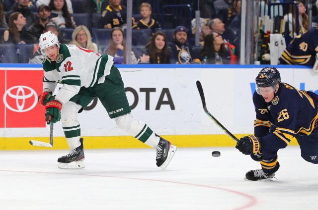 The Minnesota Wild have traded forward Marcus Johansson to the Minnesota Wild for center Eric Staal.