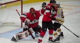 Some teams talking about Marc-Andre Fleury. The Devils have interviewed Jake Sanderson twice. Senators looking at the goalie market? Sens Mark Borowiecki hitting free agency