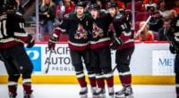 There is trade speculation surrounding the Arizona Coyotes goaltending and Oliver Ekman-Larsson. Coyotes and Taylor Hall's camp talking contract extension.