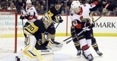 Trade talk picking up and teams may call the Senators looking to move salary for picks. The Senators have talked to the Penguins about Matt Murray.