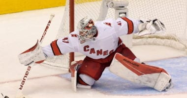 Hurricanes getting calls on James Reimer. Blackhawks taking their time to talk to their free agents. Wild checking out the goaltender market