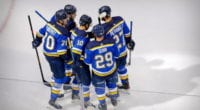 Alex Pietrangelo may not be happy with the offers he's been getting from the St. Louis Blues. Who the Blues could protect in the expansion draft.