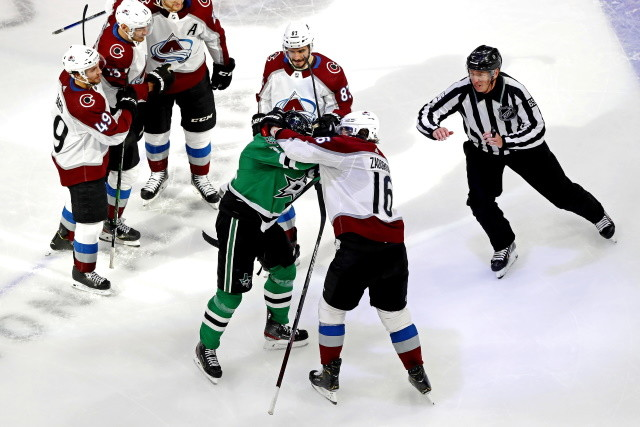 The Colorado Avalanche pulled off a 4-1 win over the Dallas Stars to force Game 7. They also got hit with more injuries as Gabriel Landeskog and Conor Timmins didn't come out for the third.