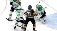 The Dallas Stars didn't generate much offsense, but it was enough as Anton Khudobin held the Vegas Golden Knights scoreless in Game 1 of the Western Conference Finals.
