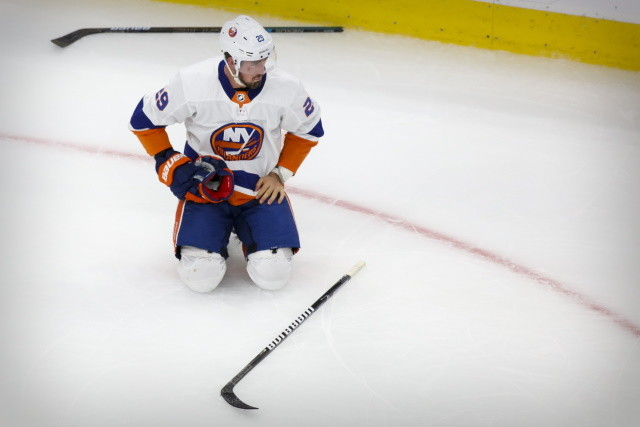 A couple of mistakes and not being able to capitalize on the power play has the New York Islanders down two games to nothing against the Tampa Bay Lightning.