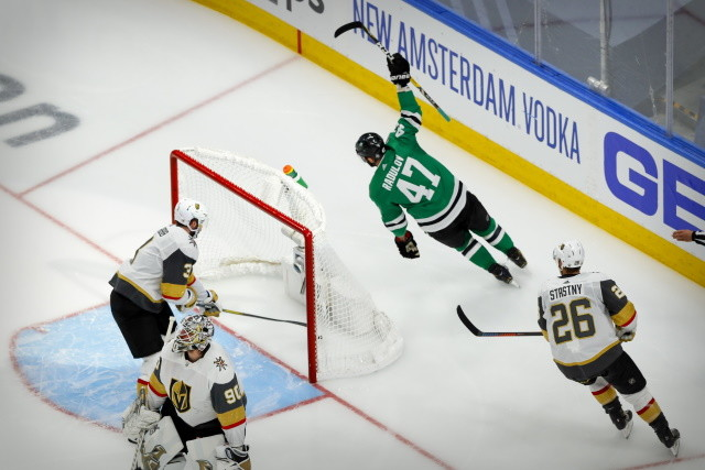 Game 4 of the Western Conference Finals betweet the Dallas Stars and Vegas Golden Knights gets underway at 8:00 PM ET.