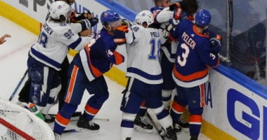 The New York Islanders got themselves back in the series with a 5-3 win over the Tampa Bay Lightning in Game 3 of the Eastern Conference Finals.
