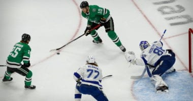 After taking Game 1 the Dallas Stars have dropped two in a row as defenseman Victor Hedman continues to lead the Tampa Bay Lightning.