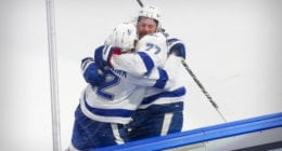 The Tampa Bay Lightning's power play has rolling during the Stanley Cup Final. They've scored on six of 15 PP opportunities, a 40 percent rate.