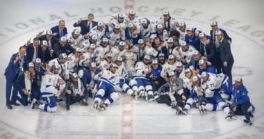 The Tampa Bay Lightning won Game 6 2-0 and take home their second Stanley Cup.