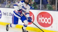 2020 NHL draft: Carl Berglund made the jump to Sioux City in 2018-19 and UMass-Lowel last season. He will likely hear his name called in the later rounds.