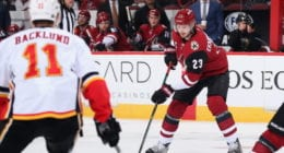 Mike Hoffman willing to be patient. Calgary Flames looking for depth. Oliver Ekman-Larsson on the rumors.