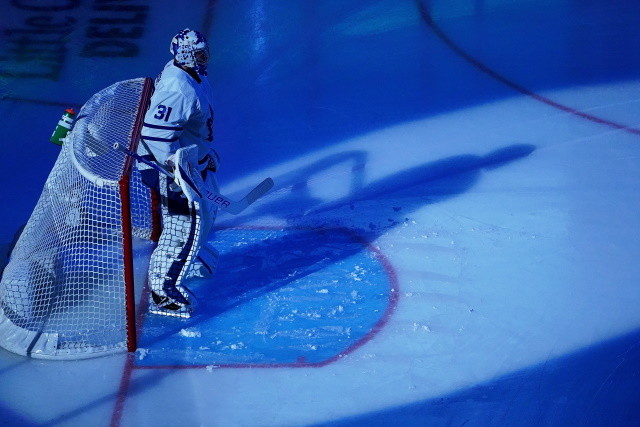 Elliotte Friedman on Toronto Maple Leafs goaltender Frederik Andersen, who will be playing for a new contract for next season.