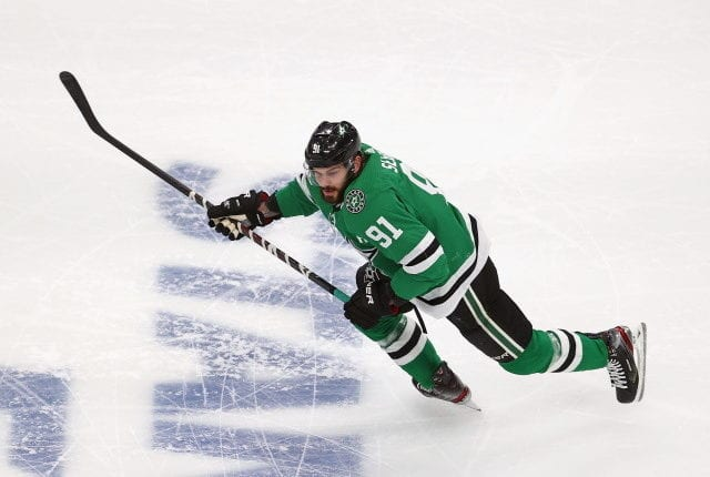 Tyler Seguin's surgery delayed. Dale Tallon cleared of allegations. Lightning re-sign Maroon and Schenn. Jets re-sign Niku. Sabres avoid arbitration with Olofsson.