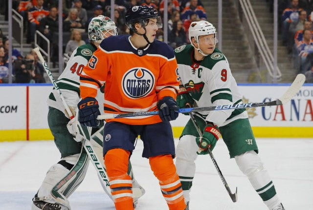 Ryan Nugent-Hopkins is one of the more highly sought centers in free agency.