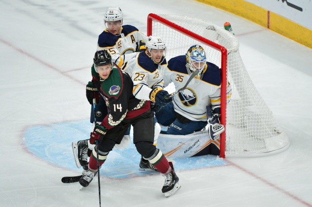 NHL news: Teams with a second buyout window. NHL draft lottery idea. The Buffalo Sabres re-sign Sam Reinhart and Linus Ullmark.