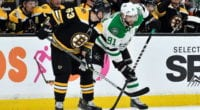 David Pastrnak, Brad Marchand and Charlie McAvoy have surgery, Tyler Seguin has the same issues as Pastrnak. Salary Arbitration dates.