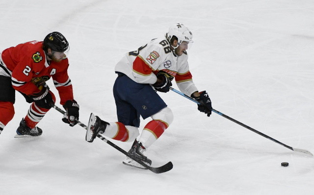 Coyotes sign Frederik Gauthier and hire Shane Doan. Rangers sign 2020 pick Braden Schneider. Blues sign Mike Hoffman to a one-year deal.