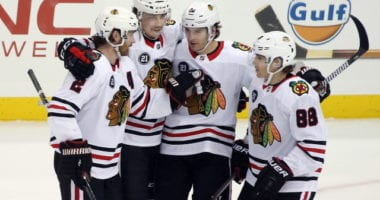 The Chicago Blackhawks wrote a letter to their fans this week to let them know about their rebuild. They have a veteran core that has been around for a while. How far will the rebuild go?