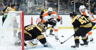 Wayne Simmonds list down to two teams. Bruins holding firm on latest offer to Torey Krug. Potential Markstrom replacements.