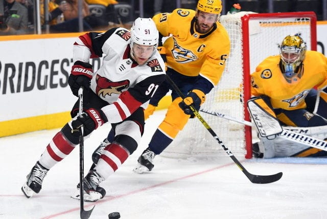 Predators clearing space for Taylor Hall? Flames and Oilers interested in Tyson Barrie and Jacob Markstrom? Avs and Bruins interested in Saad?