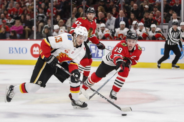 Coyotes to re-sign Christian Fischer. Chicago Blackhawks may not be done. The Calgary Flames are still looking to improve their roster.