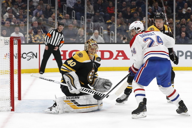 Montreal Canadiens will have to make a decision on Phillip Danault. No internal salary cap for the Boston Bruins and a depth option for their blue line.