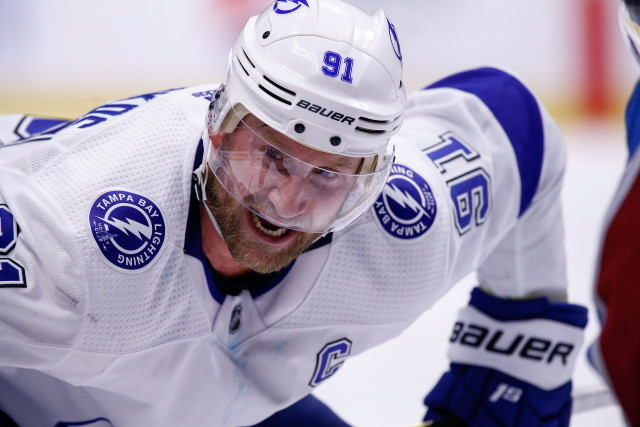 Steven Stamkos has surgery to repair his core muscle injury.